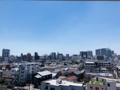 9階建ての8階に付き眺望も良好です。