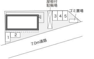 【駐車場】倉敷市中庄一棟マンション