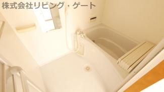 追い焚き機能付きお風呂。