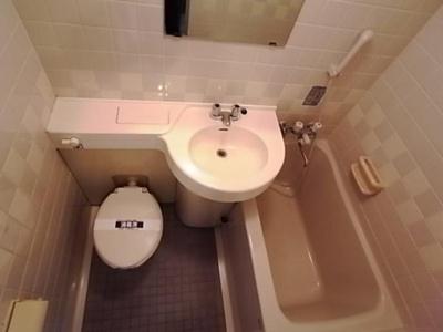【浴室】三の輪シティハウス