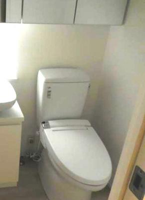 【トイレ】三軒茶屋HiLLz ネット無料 独立洗面台 オートロック 宅配BOX