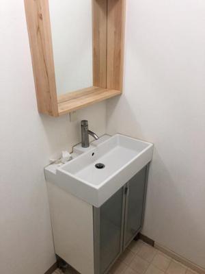 【洗面所】大和田戸建