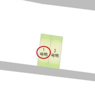 【区画図】【オークハウス境川】新築戸建