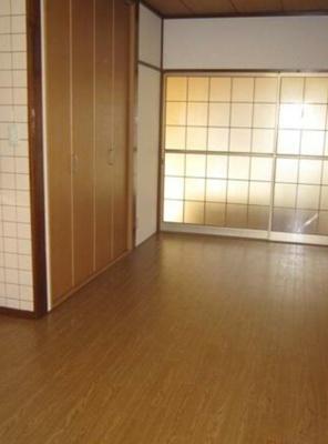 【寝室】ハイツ藤