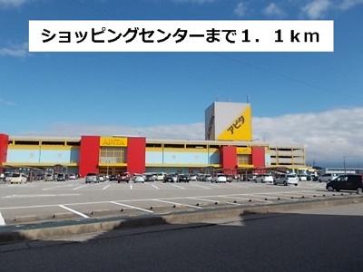 アピタ富山東店まで1100m