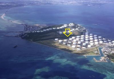 【外観】うるま市 石油産業用地