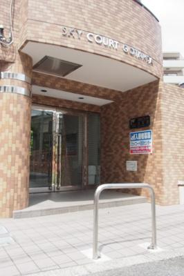 【エントランス】スカイコート五反田