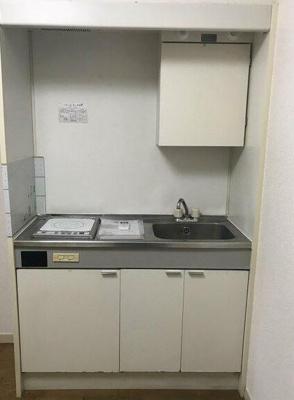 【キッチン】スカイコート五反田