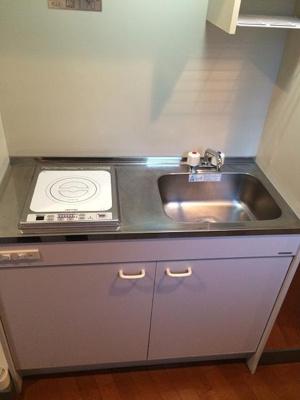 【キッチン】ル・リオン三軒茶屋 ペット2匹可 浴室乾燥機 24時間ゴミ出し可