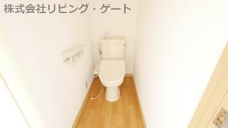 トイレ。温水洗浄便座付き。