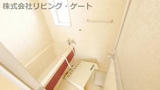 お風呂場には窓があるので換気出来ます!クリーニング中。