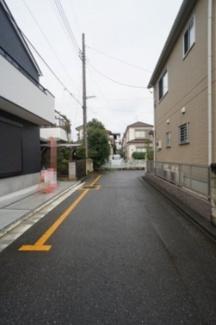 【前面道路含む現地写真】桜区白鍬 新築戸建