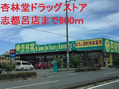 杏林堂ドラッグストアまで600m