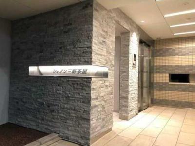 【エントランス】シェノン三軒茶屋 新築 ウォークインクローゼット 浴室乾燥機 オートロック