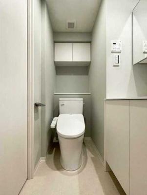 【トイレ】シェノン三軒茶屋 新築 ウォークインクローゼット 浴室乾燥機 オートロック