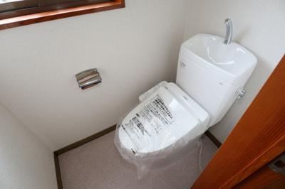 トイレ交換!
