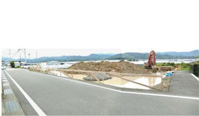 【前面道路含む現地写真】高知県安芸市井ノ口甲