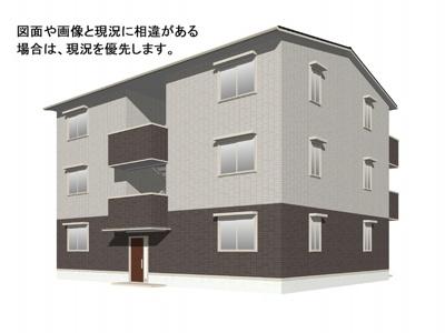 【外観】(仮)D-room伴中央Ⅰ