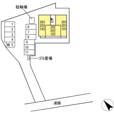 【駐車場】(仮)D-room伴中央Ⅰ