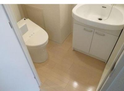 【トイレ】ライジングプレイス月島