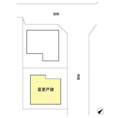 【区画図】富里戸建
