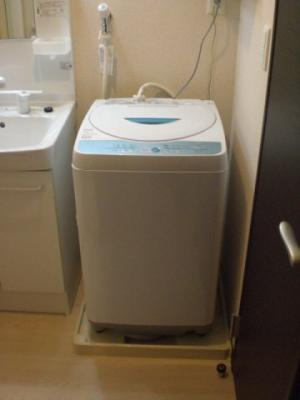 全自動洗濯機設置 全部屋