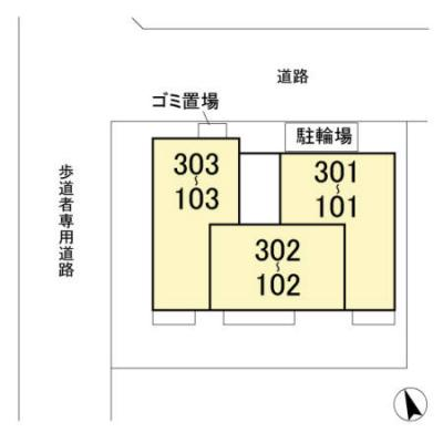 【区画図】セントナチュール