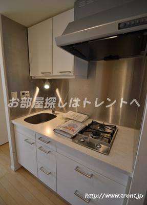 【キッチン】ルシヤージュ神宮前