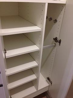 玄関収納 大事な靴や荷物をきれいに収納できます