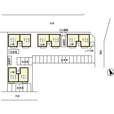 【区画図】リビングタウンみらい平 C