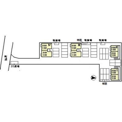 【区画図】ラ・グラシューズ