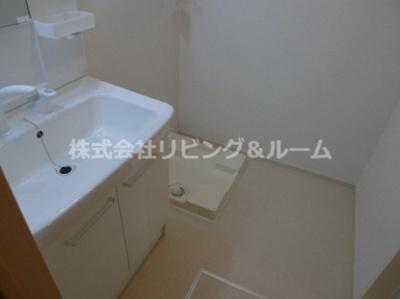 【独立洗面台】ヴェスティート・Ⅱ棟