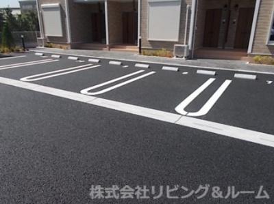 【駐車場】アルバ・Ⅰ棟