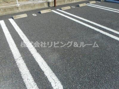 【駐車場】ラシュレ・Ⅱ棟