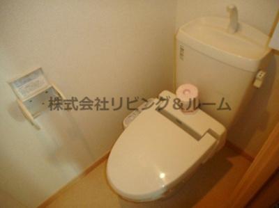 【トイレ】ラシュレ・Ⅱ棟