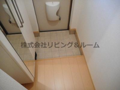 【玄関】ラシュレ・Ⅱ棟