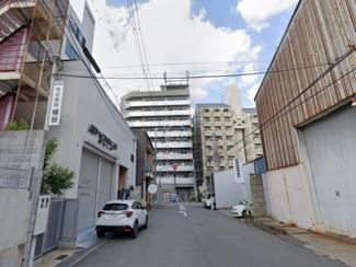 大阪市浪速区稲荷一棟貸しビル エントランス