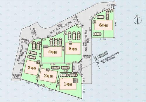 小田原市飯泉第22 新築一戸建て 全6棟