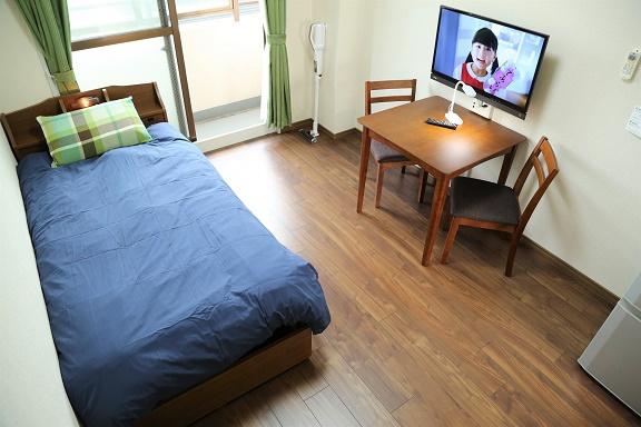 【寝室】プリンセスコートお花茶屋