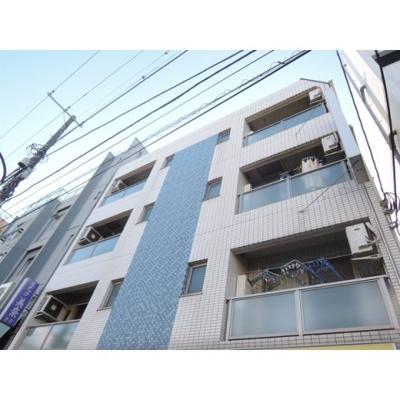 東急多摩川線「武蔵新田」駅より徒歩2分のマンションです