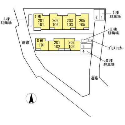 【区画図】Minette Ⅰ ~ミネットワン~