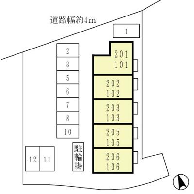 【区画図】ローズガーデン