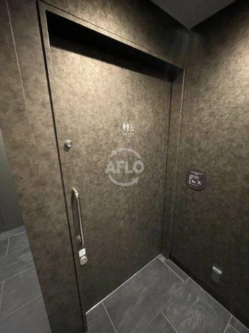 MJR堺筋本町タワー 多目的トイレ含め共用部にはお手洗が2つございます