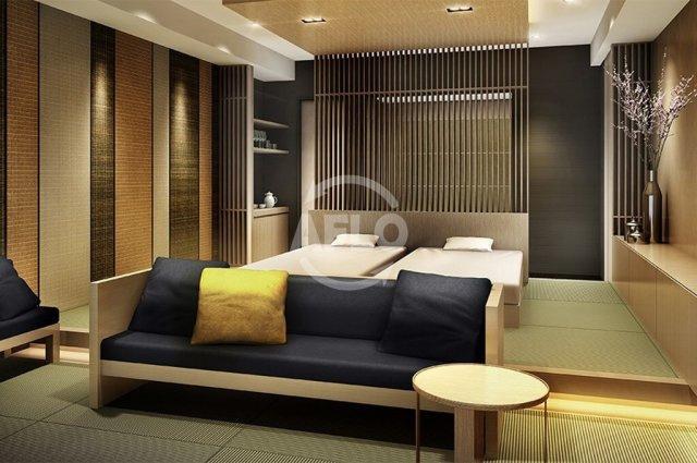 MJR堺筋本町タワー ゲストルームは和室と洋室の2タイプがございます。※イメージ画像です