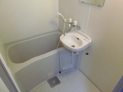 【浴室】レオパレス中川245