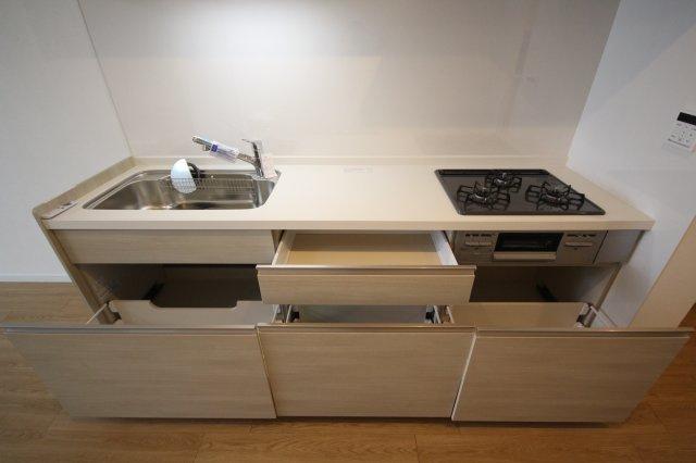 【キッチン】古河平丘台マンション