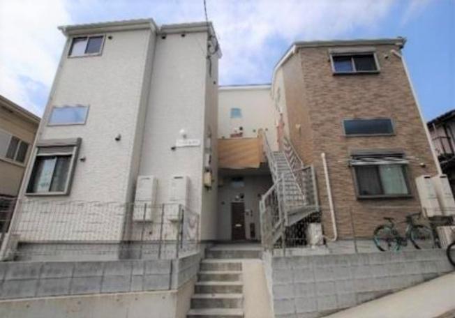 【外観】横浜市西区東久保町の一棟売りアパート