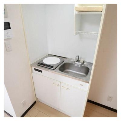 【キッチン】アパートメントアビ