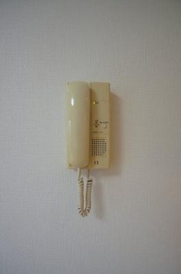 「受話器つきインターホン」