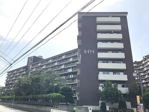 【外観】検見川ハイム1